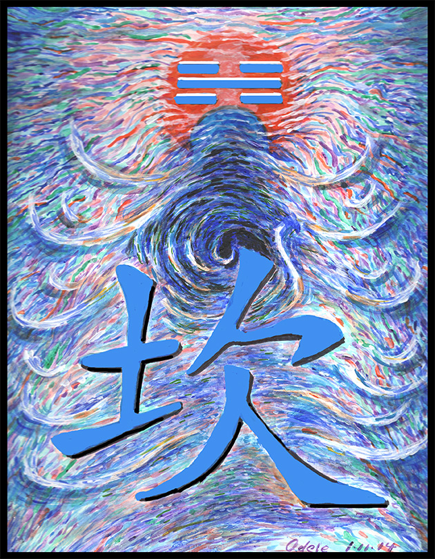 I Ching trigram, water