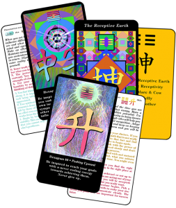 3 I Ching Inspiration cards