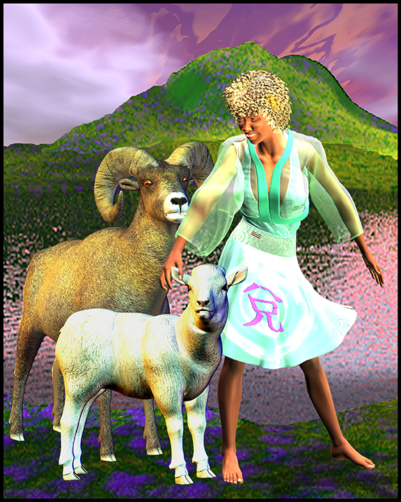 year of the goat /sheep